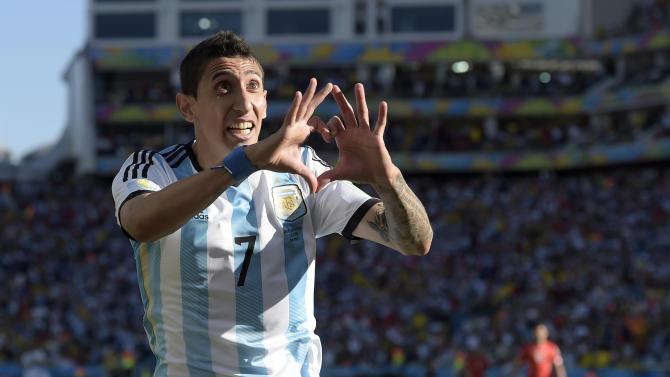 Di Maria puts himself in World Cup spotlight
