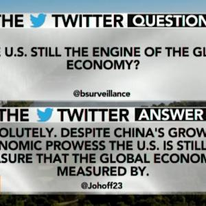 Is the U.S. Still the Engine of the Global Economy?