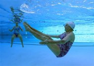Pool exercise may build strength, reduce falls