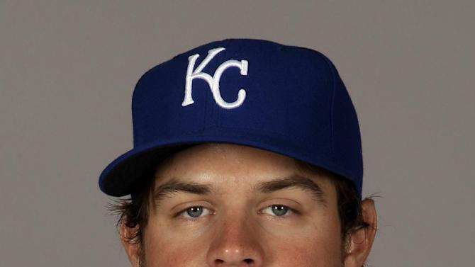 This is a 2012 photo of Wil Myers of the Kansas City Royals baseball team. The Kansas City Royals have acquired starting pitchers James Shields and Wade Davis from the Tampa Bay Rays for outfielder Myers and a package of minor league prospects Sunday Dec. 9, 2012. (AP Photo/Charlie Riedel,File)