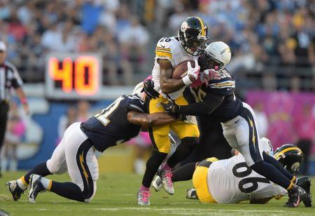 Bell's last-second run lifts Steelers past Chargers