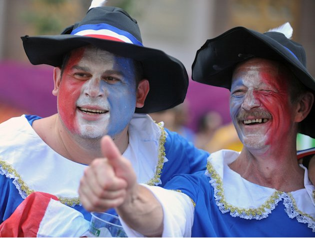 France Supporters AFP/Getty Images