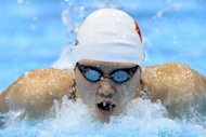 China's Ye Shiwen competes in the women's 200m individual medley heats. Teenage Chinese swimmer Ye Shiwen's explosive Olympics is set to dominate gold medal pool action on Tuesday while Michael Phelps could become the greatest Olympian in history