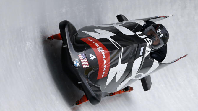 Holcomb of US wins World Cup bobsled overall title