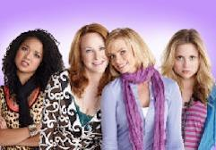 "Aisha Dee as Mackenzie, Katie Finneran as Nikki, Jaime Pressly as Annie and Kristi Lauren as Sophie in ""I Hate My Teenage Daughter"" on FOX -- FOX"