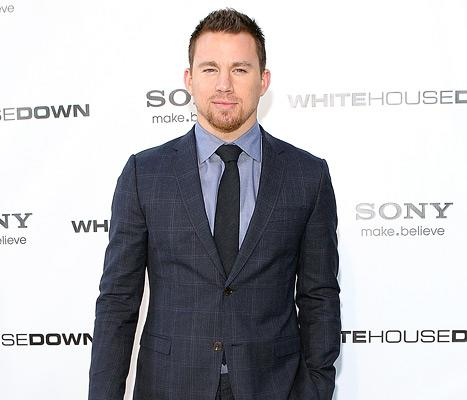 Channing Tatum Steps Out at White House Down Premiere