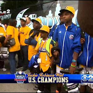 Jackie Robinson West Return Home To Heroes' Welcome