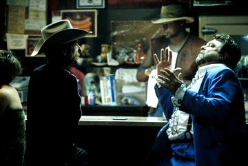 Bob Dylan and John Goodman in Sony Pictures Classics' Masked and Anonymous