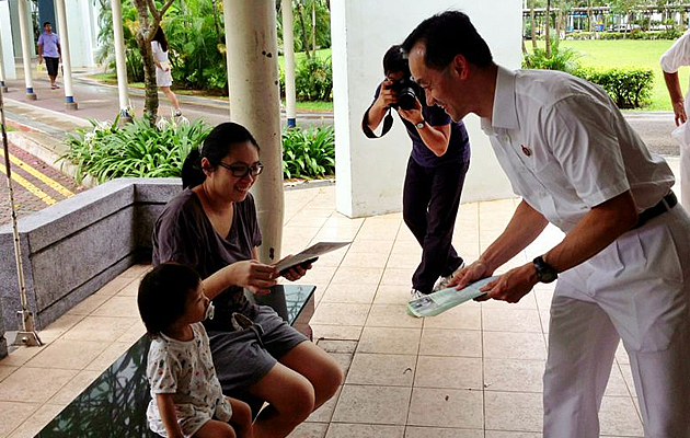 Dr Koh Poh Koon intends to expand childcare services. (Yahoo! photo)