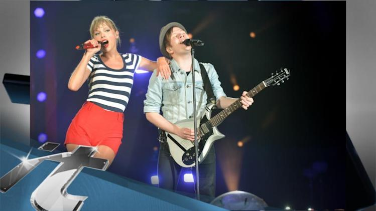 Music News Pop: Taylor Swift Performs With Fall Out Boy's Patrick Stump At Her Red Tour Jersey Show!