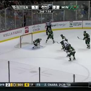 Devan Dubnyk Save on Tyler Toffoli (12:05/2nd)