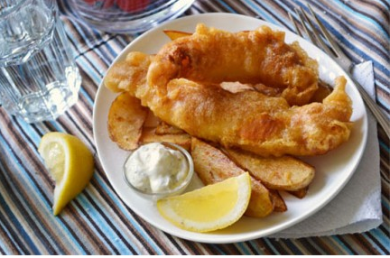 Homemade Haddock Fish & Chips