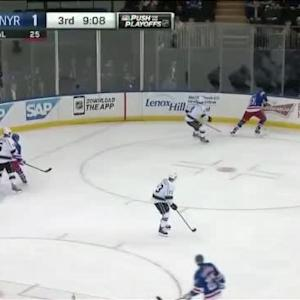 Kings at Rangers / Game Highlights
