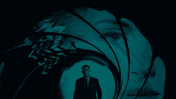"This undated publicity photo released by Columbia Records shows the official theme song by Adele to the latest James Bond 007 feature film, ""Skyfall."" After a year of Grammy glory and James Bond soundtracking, Adele has been voted The Associated Press Entertainer of the Year.  (AP Photo/Columbia Records)"