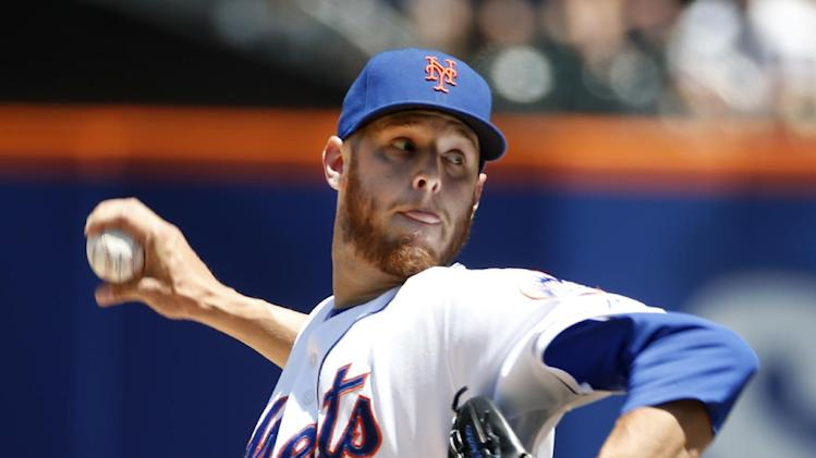 Wheeler sharp into 7th; Recker, Mets beat Rangers