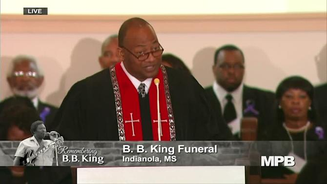 Mississippi bids musical farewell to blues legend B.B. King