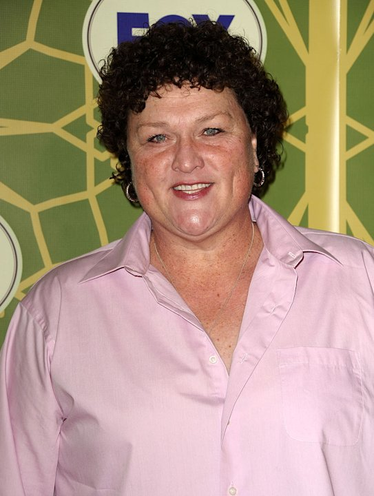 Dot-Marie Jones (&quot;Glee&quot;) attends the 2012 Fox Winter TCA All-Star Party at Castle Green on January 8, 2012 in Pasadena, California. 