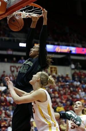 No. 1 Baylor women beat No. 24 Iowa State 66-51