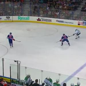 Taylor Hall Hit on Jamie Benn (07:57/2nd)