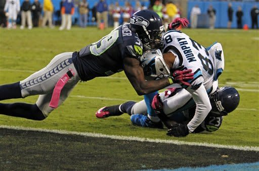 Seahawks top Panthers 16-12