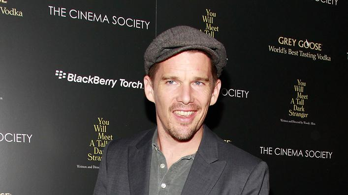 You Will Meet a Tall Dark Stranger NYC Screening 2010 Ethan Hawke
