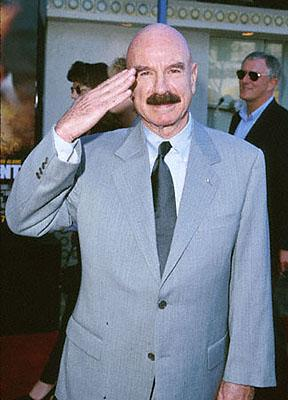 G. Gordon Liddy at the Mann Village Theare premiere of Paramount's Rules Of Engagement in Westwood, CA