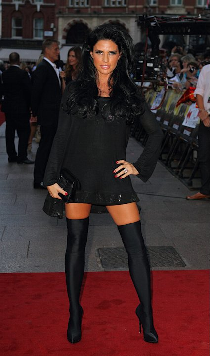 The Expendables UK Premiere 2010 Katie Price