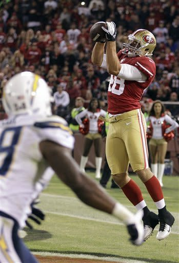 Chargers end preseason with 35-3 loss to 49ers