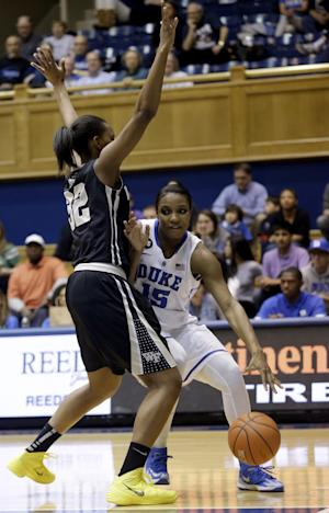No. 7 Duke women win 40th straight vs Wake, 71-56