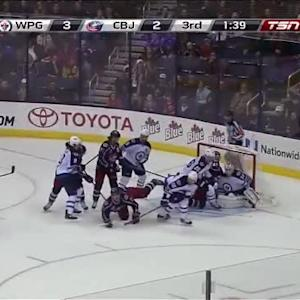 Michael Hutchinson Save on Nick Foligno (18:20/3rd)