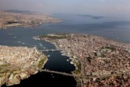 File aerial photo shows Istanbul in 2008. For serial bidder Turkey to be shortlisted after failing to win the right to host the 2000, 2004, 2008 and 2012 Games made the IOC decision a landmark sign of progress for Istanbul