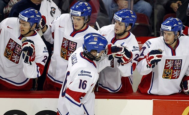 Kitchener Rangers forward Radek Faksa, pictured here at the 2012 WJC in Calgary, is playing in his third world junior. (CP / Jeff McIntosh)