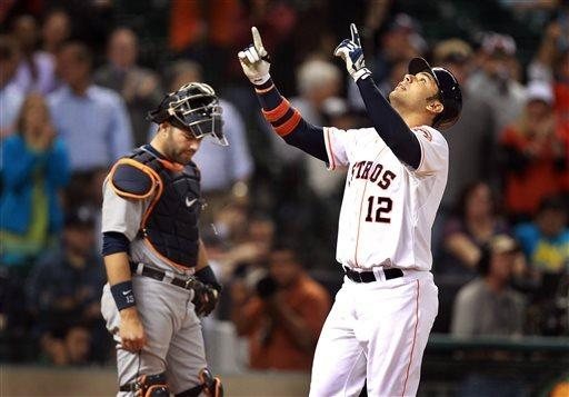 Tigers outlast Astros for 7-3 win in 14 innings