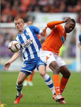 Soccer - Sky Bet Championship - Blackpool v Wigan Athletic - Bloomfield Road