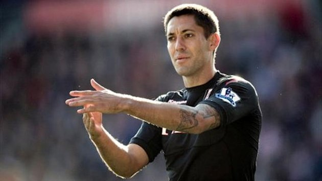 Clint Dempsey, while at Fulham (PA Sport)