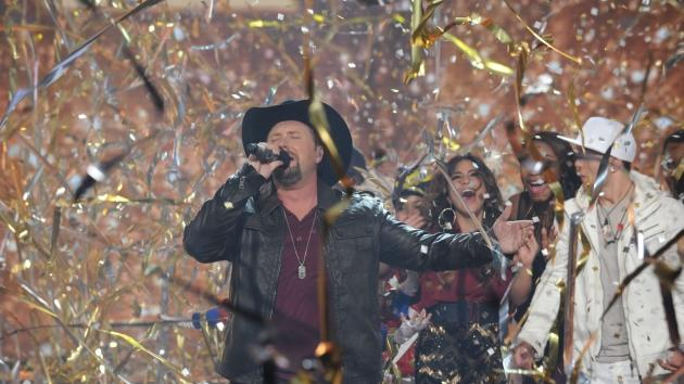 Tate Stevens performs after winning Season 2 of 'The X Factor,' Dec. 20, 2012 -- FOX