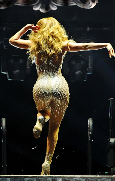 Jennifer Lopez Performs At The 02 Arena