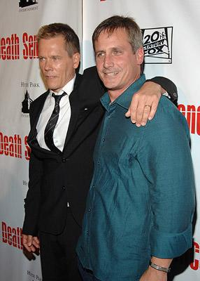 Kevin Bacon and producer John Hegeman at the New York premiere of 20th Century Fox's Death Sentence