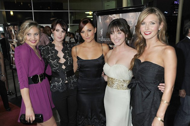 Sorority Row LA Premiere 2009 Leah Pipes Rumer Willis Briana Evigan Margo Harshman Audrina Patridge