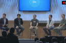 Oculus executives discussing VR's future at the company's first developer conference.