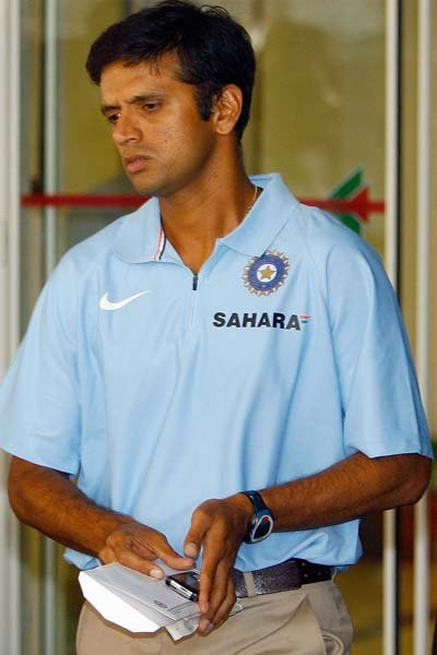 Dravid was once again dropped from the ODI squad in 2007, soon after he stepped down as Indias captain. Two years later, he was called back in bid to help the Indian team tackle the bouncy pitches in
