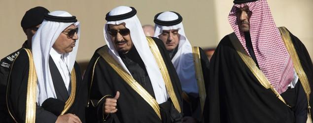 New Saudi king announces massive shakeup
