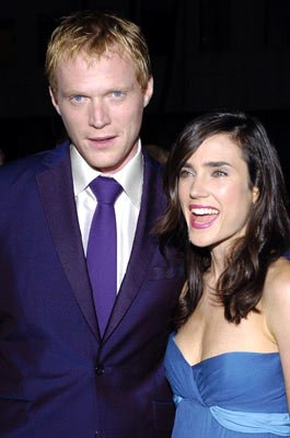 Paul Bettany and Jennifer Connelly at the Beverly Hills premiere of Universal Pictures' Wimbledon