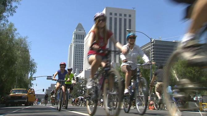 CicLAvia goes to sea with heightened security