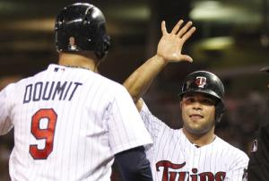 Plouffe leads Twins over Angels 6-3