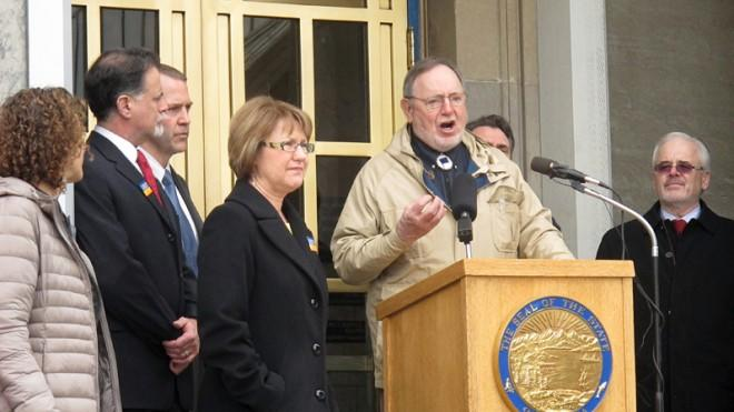 Rep. Don Young has come under fire for using a racial slur.