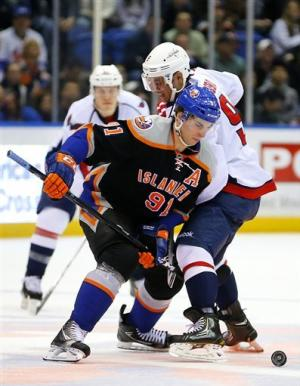Tavares' 2 PP goals leads Isles past Caps 5-2