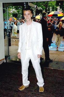 Tom Felton at the London premiere of Warner Brothers' Harry Potter and the Prisoner of Azkaban