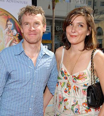 Tate Donovan and wife at the Los Angeles premiere of Warner Bros. Pictures' Nancy Drew