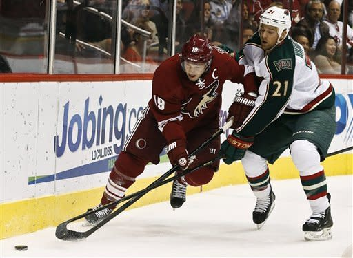 Heatley leads Wild to 4-3 win over Coyotes